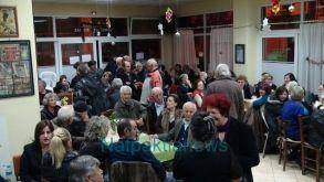 Την Πρωτοχρονιάτικη πίτα του έκοψε το ΚΑΠΗ του δήμου Ναυπακτίας.(Βίντεο-Φωτο)