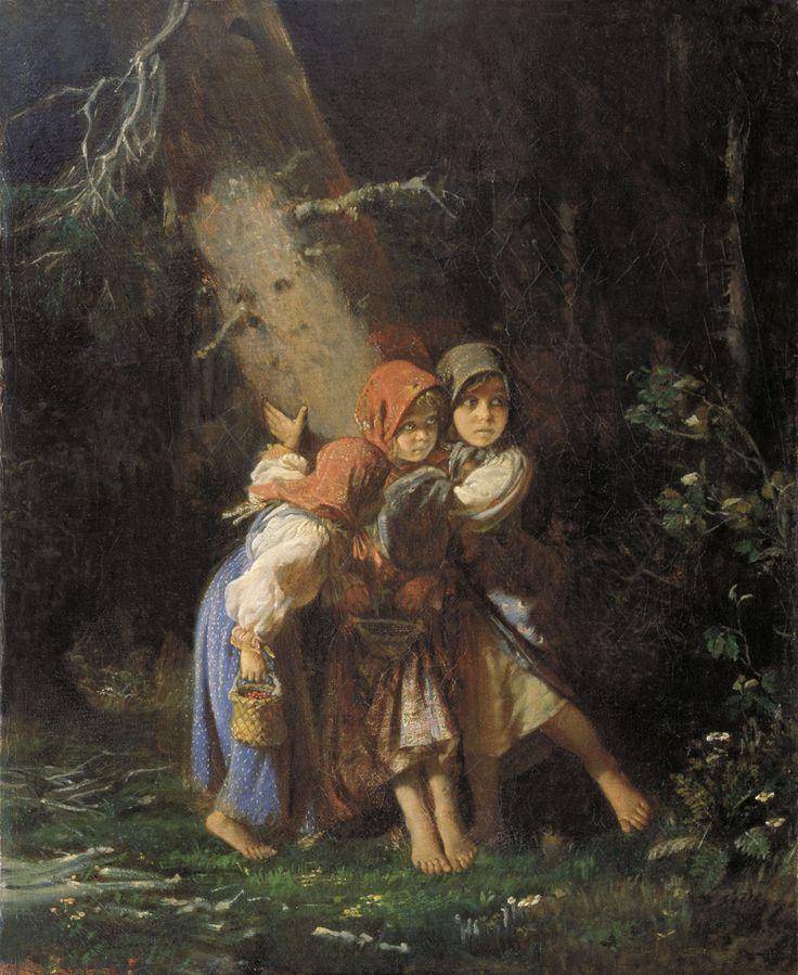 AlexeyKorzukhin.  Peasant Girls In Forest