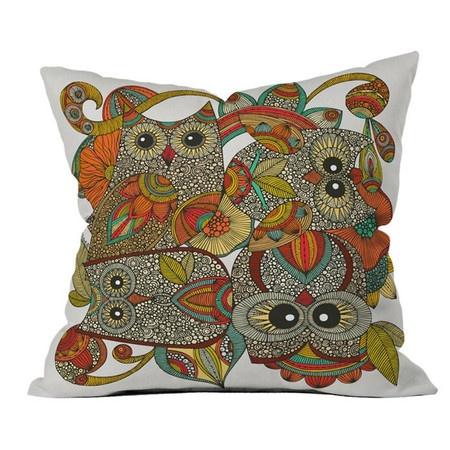 Four Owls Pillow