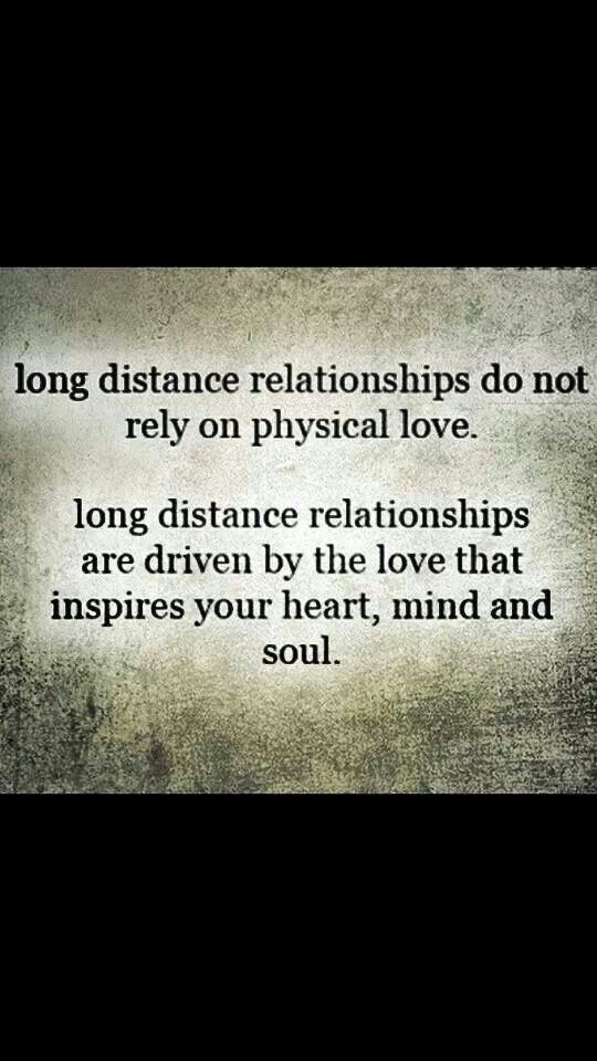 Long distant love is driven by pure genuine feelings and emotions. And on weekends you meet up the physical is so much more