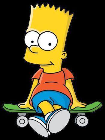 Барт симпсон снимает штаны