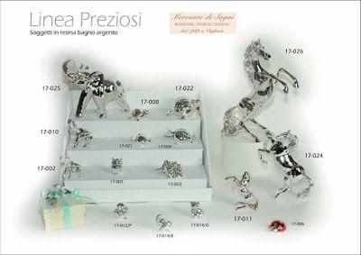 """https://mercantedisognivoghera.blogspot.it/2016/11/collezioni-la-preziosi-bagno-argento_20.html   Collezioni L'A Linea """"PREZIOSI"""" Figure animali in bagno d'argento   CAVALLO RAMPANTE - ELEFANTE - TARTARUGA MELOGRANO - CORNUCOPIA - GUFO COCCINELLA - GATTO - PAPEROTTO"""