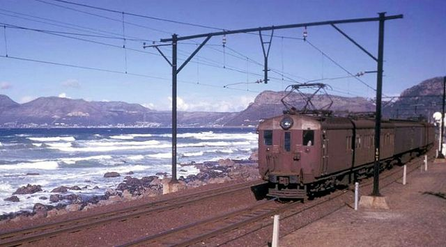 Electric Railway on the Cape Town to Simon's Town Line 1962| Flickr - Photo Sharing!