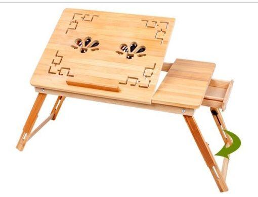 столик для ноутбука стол подставка бамбуковый вент