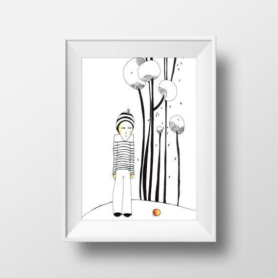 Boy 29 x 19 cm Instant Download Art Deco by olgutzashop on Etsy