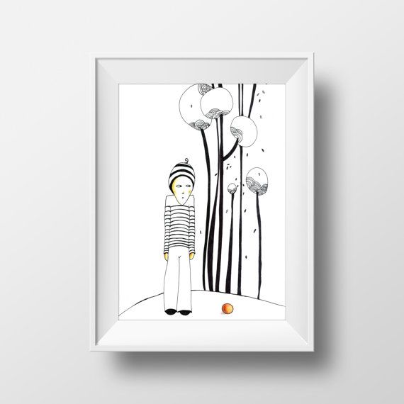 Boy 29 x 19 cm Instant Download Art Deco by olgutzashop on Etsy
