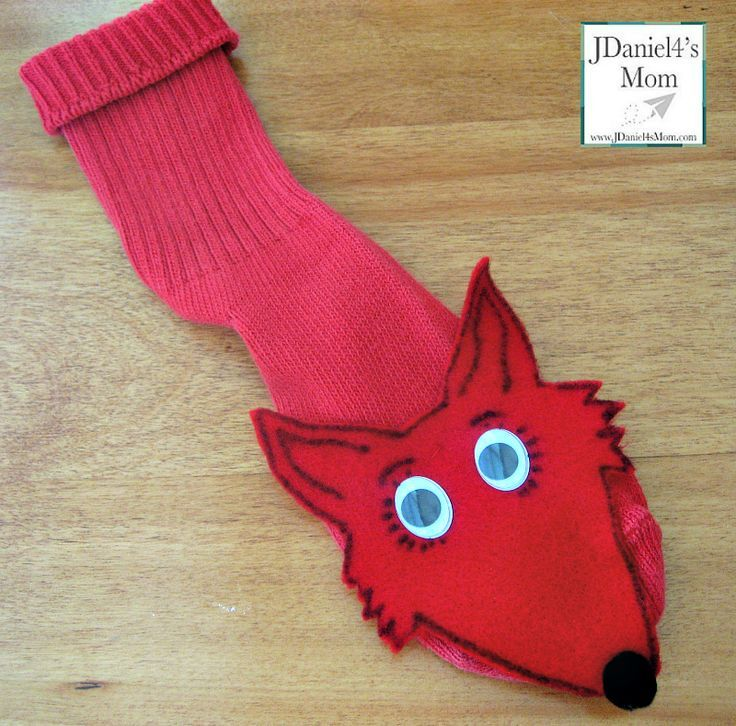 Fox in Socks Hand Puppet