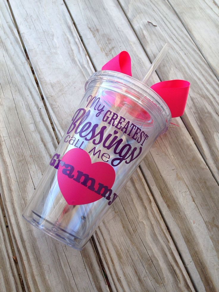 My greatest blessings call me Grammy nana Gigi memo grandma grandmother gift for grandparents Mother's Day gift love for grandma from grandchildren tumbler cup with lid and straw