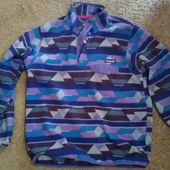 Patagonia Fleece Pullover Patagonia Fleece Pullover- Great condition! Worn maybe 10 times. Size Medium. Paid $110 for it. Asking $75 Patagonia Sweaters