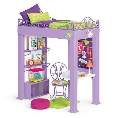 NEW In Box NIB American Girl Doll of 2012 MCKENNA LOFT BED SET * FREE SHIP * | eBay