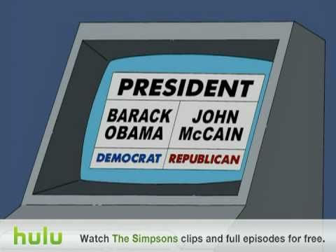 ▶ The Simpsons - Electronic Voting - YouTube. ohio; why maybe???