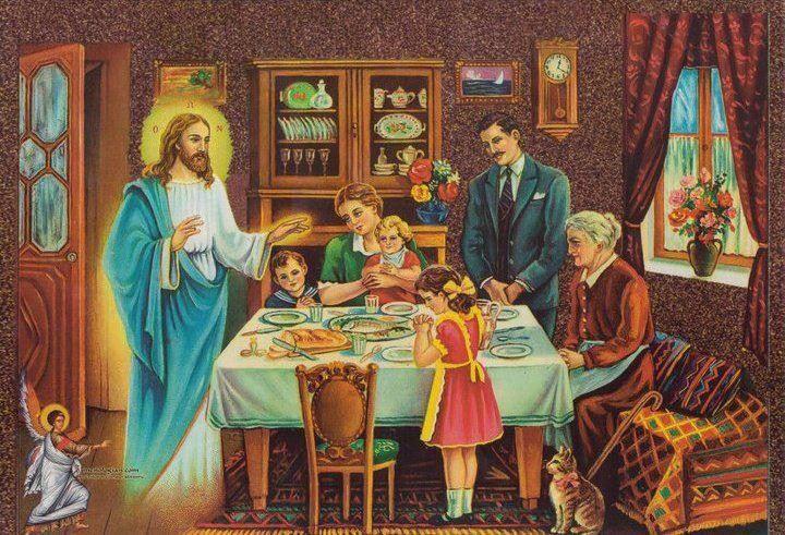 «Να προσεύχεσαι κάθε φορά που κάθεσαι στο τραπέζι»