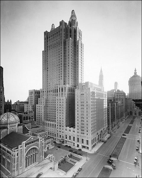 The Waldorf Astoria Hotel, 1930. Just recall what the rest of the world looked like in 1930.