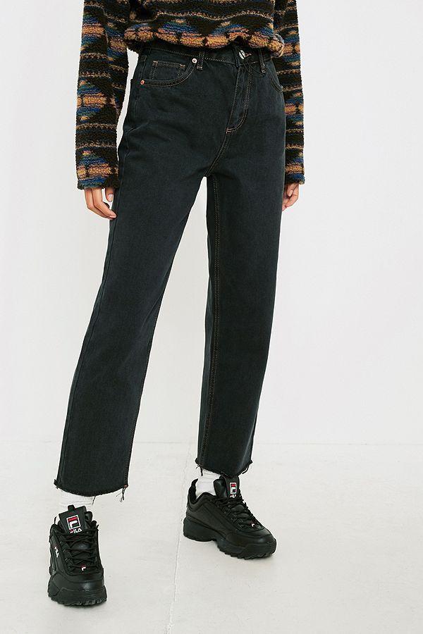 6540abc0792bde BDG Pax Black Straight Leg Jeans   OUTFITS