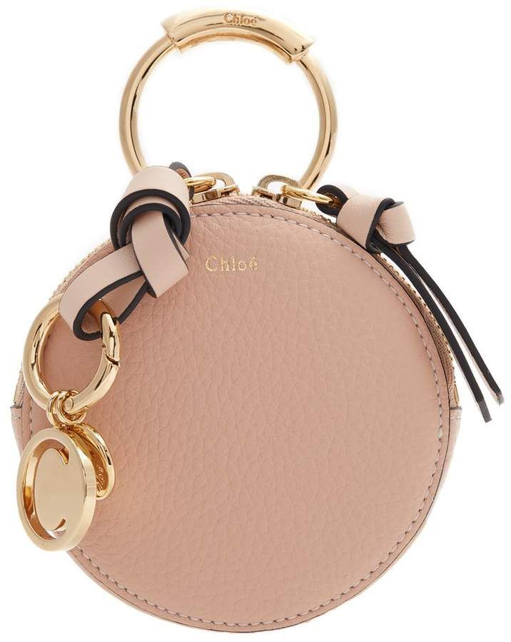 668600b2cb8b58 CHLOÉ Round mini leather coin purse | Designer brands in 2019 | Bags ...