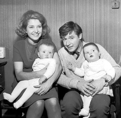 Ken,Valerie & the twins Susan & Peter
