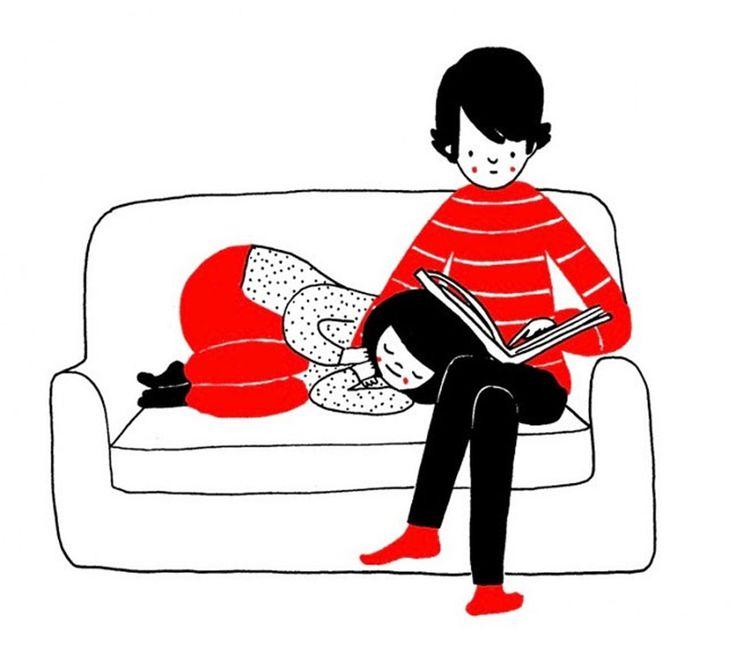 14 illustrazioni di piccoli momenti quotidiani che rendono felice una coppia | Pagina 7 di 12 | Darlin Magazine