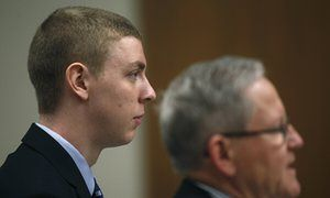 Brock Turner laughed after bystanders stopped Stanford sex assault, files show.......Brock Turner changed his story throughout the process and came to trial with a version of the events that contradicted his earlier statements and the testimony of witnesses and police, the records show.