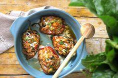 As Minhas Receitas: Pimentos Recheados com Atum