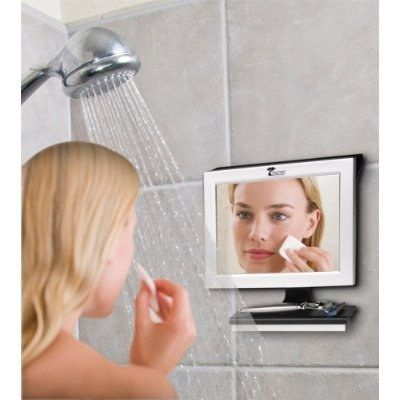 A fogless mirror that will expedite your morning routine.