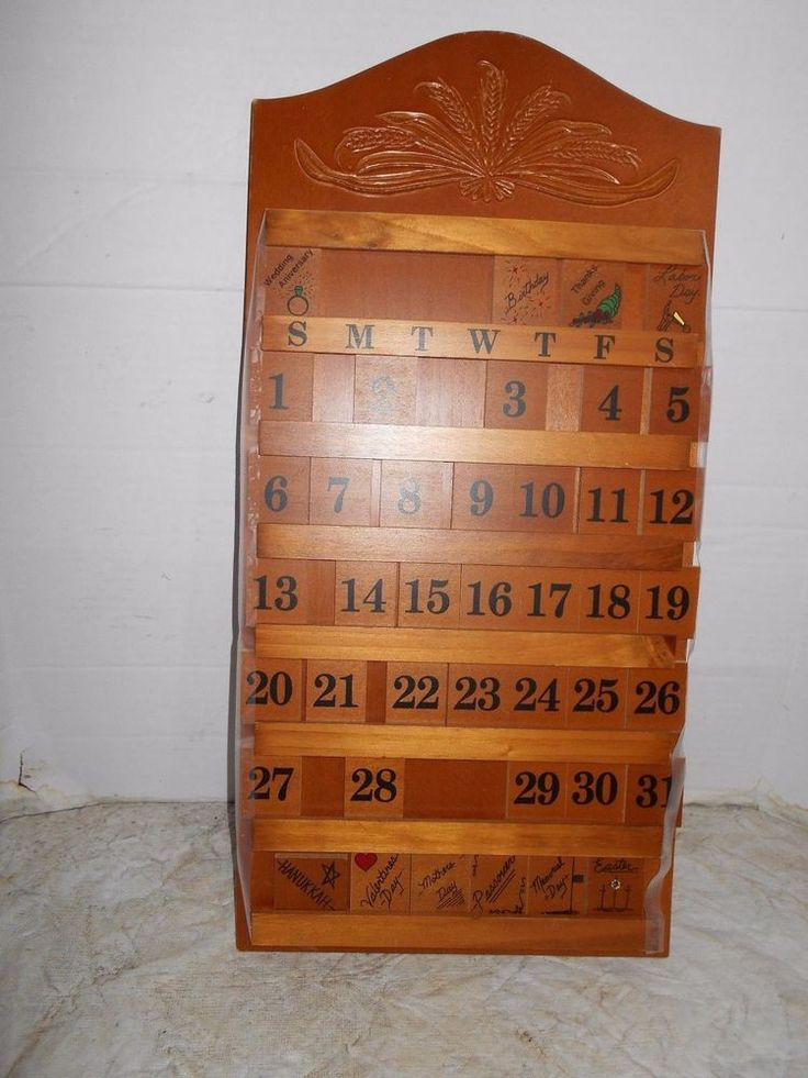 Perpetual Calendar Wood : Best perpetual calendars images on pinterest