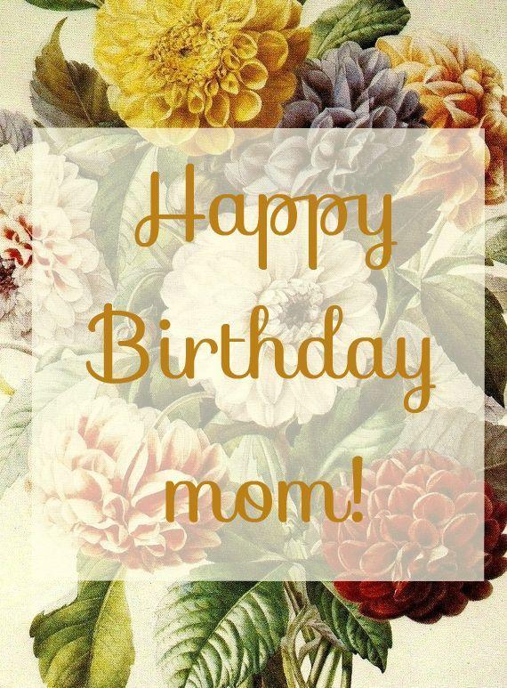 birthday quotes  happy birthday mom a beautiful image to