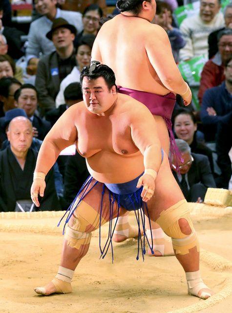 玉鷲、横綱鶴竜に快勝「いやあ、さっぱりした」 #相撲