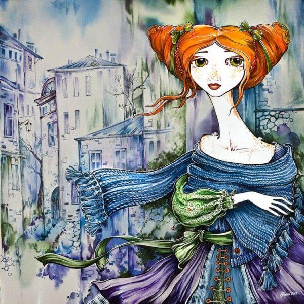 Очаровательный батик Марии Каминской