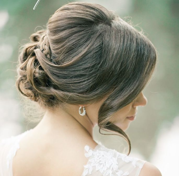 Latest Wedding Hairstyles for Inspiration - hairstyle: Elstile