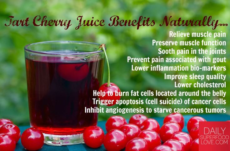 Did you know that tart cherries have double the health benefits than sweet ones? #TartCherries