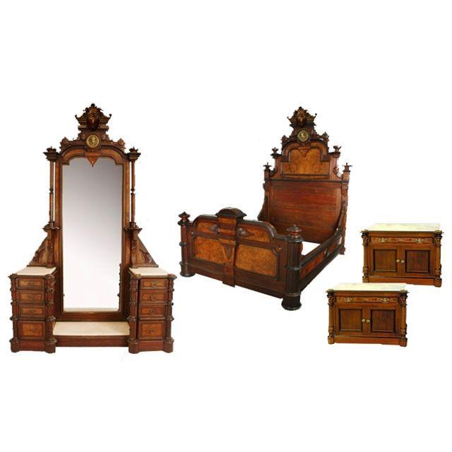 45 best 1800s bedroom furniture images on Pinterest Bedroom