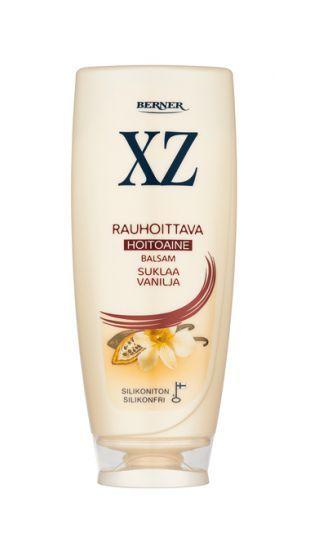 Kutiavalle ja herkälle hiuspohjalle: Aitoa kaakaota sisältävä XZ Suklaa Vanilja hoitoaine. http://www.xz.fi/tuotteet/xz-suklaa-vanilja-hoitoaine
