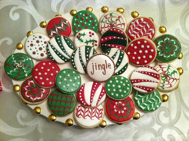 Christmas Ornament Cookies by SugarPixieSweets
