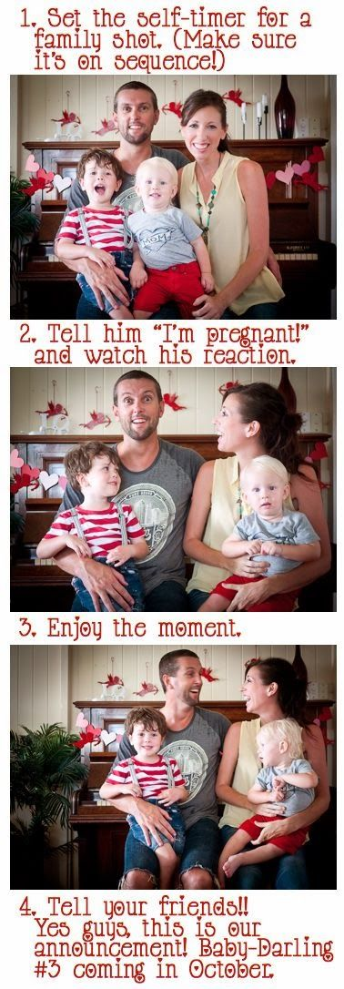 Cutest Pregnancy Announcements