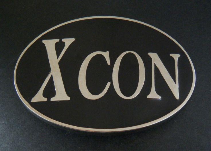 Xcon X Convict Con Artist Prisoner Criminal Belt Buckle #xcon #xconbuckle #xconbeltbuckle #jail #jailbird #funnybuckles #coolbuckles #beltbuckle #buckles