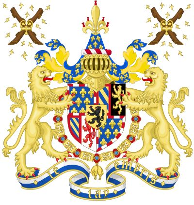 Coat of Arms of Charles the Bold, Duke of Burgundy.svg