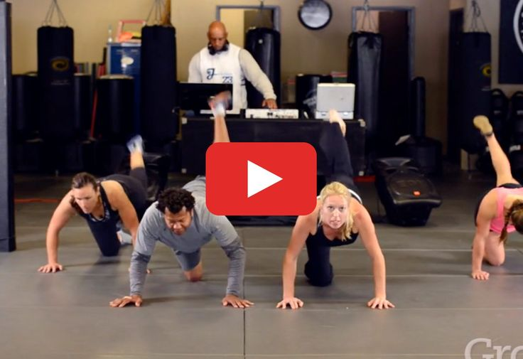 This effective routine proves you don't need HIIT to get your rear in gear via grokker.com