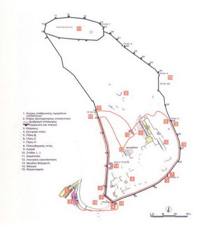 Ancient Plevron map