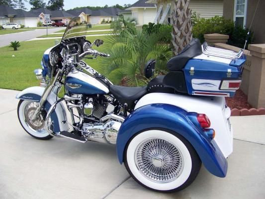 2005 harley softail deluxe w champion trike conversion kit motorcycles pinterest harley. Black Bedroom Furniture Sets. Home Design Ideas