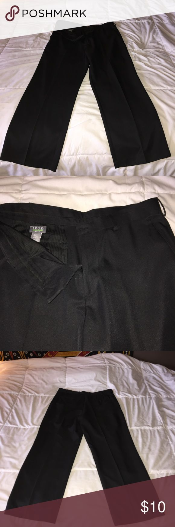 IZOD Golf Pants 34x29 IZOD Golf black pants. 34x29 Izod Pants Dress