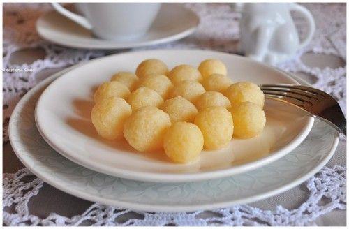 Картофельные клёцки в молоке