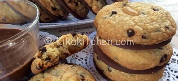 Cookies americani cioccolato e arachidi | Kikakitchen