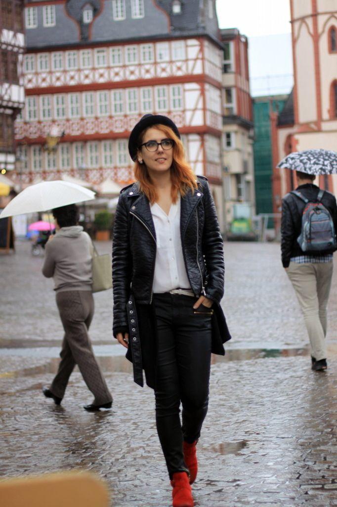 frankfurt dancing in the rain ootd streetstyle