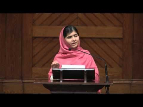 Malala Yousafzai Nobel Peace Prize Speech - YouTube
