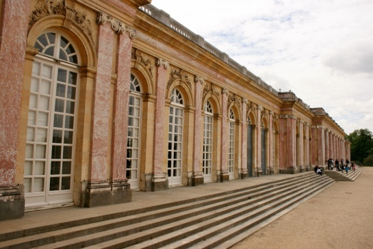 Grand Trianon with pink marble columns