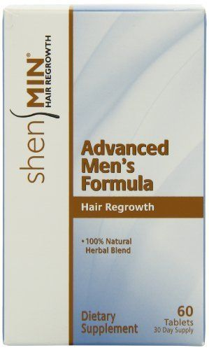 Shen Min Hair Regrowth, Advanced Men's Formula, 60 Tabs * This is an Amazon Affiliate link. Want additional info? Click on the image.