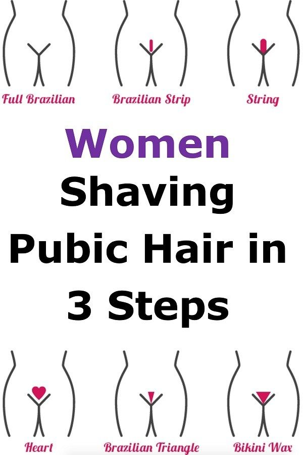 Pros of shaving pubic hair