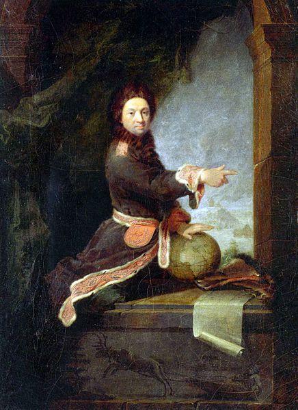 Pierre-Louis Moreau de Maupertuis. 1740,oil on canvas,51x35 cm,Stiftung Preußische Schlösser und Gärten. Robert Tournières (1667-1752) В 1718г.он был зачислен в мушкетеры и служил в кавалерии(снач.в звании лейтенанта,позже-капитана).Но природн.наклон-ти к точн.наукам побудили его в 1722г.выйти в отст.и поселиться в Париже,наслаждаясь интеллект.жизнью парижских кафе и продолжая при эт.усиленно заним. математикой.Начиная с 1724г. Мопертюи публ.ряд науч.работ.