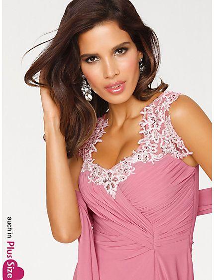 Ashley Brooke - Abendkleid rosé im Heine Online-Shop kaufen