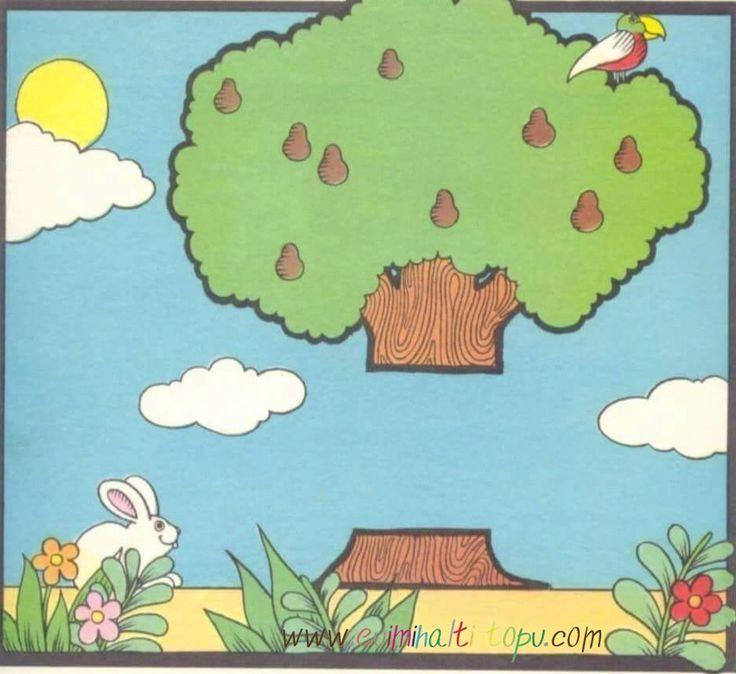 okul öncesi ilkokul resim tamamlama etkinlik sayfaları